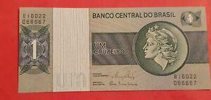Billet 1 CRUZEIRO Brésil   NEUF UNC