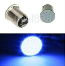 2X 12V LED 1157 BAY15D P21/5W 1016 12Chips Car Brake Parking Light Bulb Blue