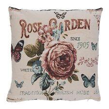 Clayre FES Cuscino GUSCIO Cuscino Rose Garden Landhaus NOSTALGIA SHABBY 45x45cm
