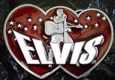 Boucle ceinture Siskiyou - Elvis Presley Double Hearts