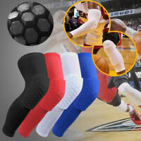 Youth Pad Honeycomb Leg Support Knee Sleeve Brace Sports Support Basketball USA