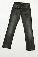 CK CALVIN KLEIN JEANS LADIES BLUE DENIM BOOTCUT STRETCH FIT W26 UK8 SuPER!!