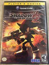 Shadow The Hedgehog ( Nintendo Gamecube ),Complète w/Case & Manual