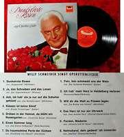 LP Willy Schneider: Dunkelrote Rosen (Polydor HiFi 46 778) D 1963