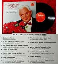 LP Willy Schneider: SCURO ROSE ROSSE (Polydor Hi-Fi 46 778) D 1963