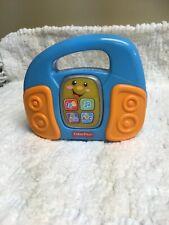 Fischer Price Toddler Toy Radio