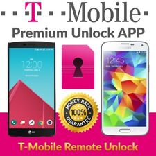 T-MOBILE FACTORY SIM UNLOCK APP CODE SERVICE SAMSUNG GALAXY S8 S7 EDGE S6 NOTE 8