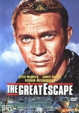 THE GREAT ESCAPE Steve McQueen DVD R4 - New