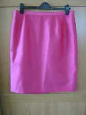 Ladies L K Bennett BN Safari skirt size 16 in Fuchsia