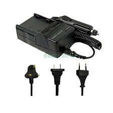Battery Charger for Olympus Li10b Li-10b Li12b Li-12b Li10c Li-10c Camedia Mju