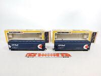 CE649-1# 2x Bachmann H0/DC 1015 US-Güterwagen CP Rail KLEINSTTEILE ABGEBROCHEN