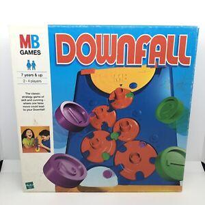 Vintage Downfall Game, MB Games Hasbro 1999 VGC Playable *See Desc*