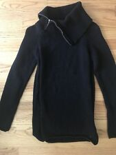 Guess Black Turtle Neck Sweater S