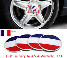 56 French France Metal Car Truck Wheel Center Hub Cover Cap Emblem Sticker Decal