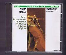 MARAIS MARIN CD 3 SUITES EN TRIO / ENSEMBLE AMALIA