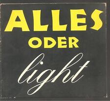 """AC/DC """"Alles Oder Light"""" 4 Track Promo CD Digi SELTEN"""