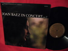 JOAN BAEZ In concert Part 2 LP 1972 UK MINT-