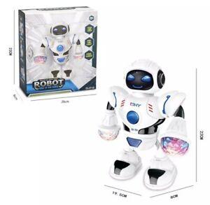 🔥😂 Music Robot Shiny Educational Toys Electronic Walking Dancing Smart 😂