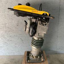 Wacker Neuson Bs60 2 Plus Jumping Jack 2 Stroke Rammer Tamper Compactor 20hrs