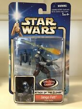 Star Wars EP 2 Attack of the Clones - Jango Fett Final Battle - 2002 - NEW #31