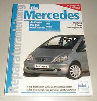 Reparaturanleitung Mercedes A-Klasse (W 168) A 140 / 160 / 170 CDI und Vaneo
