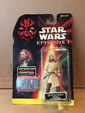 Hasbro Star Wars Episode 1 Phantom Menace Qui-Gon Jinn NIEUW !