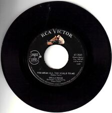"""DELLA REESE!-""""MOST BEAUTIFUL WORDS"""" B/W """"YOU MEAN ALL THE WORLD TO ME"""" VPI CLEAN"""