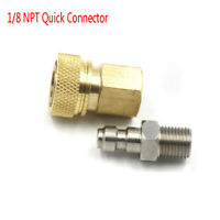"""Fitting Adapter NPT 1/8"""" Female&Male Quick Release Disconnect Paintball Connctor"""