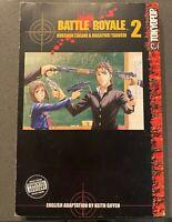 Battle Royale Vol. 2 Manga Rare OOP Single Graphic Novel English