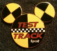 DISNEY WDW EPCOT TEST TRACK MICKEY HEAD ICON OPEN EDITION LOGO PIN