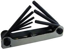 Portátil plegable Llaves Torx Torque Estrella Tool Set Tamaños T9-T40 (I9100)