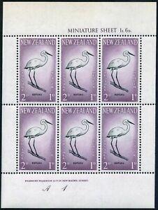 New Zealand B61a-B62a,MNH.Michel 416-417 klb Great white egret,NZ Falcon.1961.