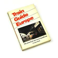 Train Guide Europe George Pandi 1985 The Practical Rail Travel Book FREE Postage