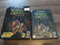 The Legend of Zelda: Four Swords Adventures ( GameCube) no link cable big box