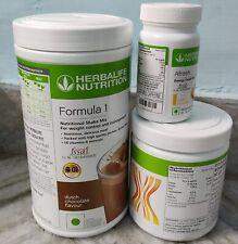 Herbalife Package -Formula1(Chocolate)+Personalized Protein Powder+Afresh(Lemon)