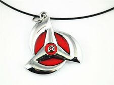 New Naruto Kakashi Sasuke Sharingan Pendant Necklace Locket Keychain Phone Chain