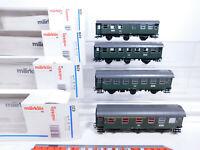 CQ700-1# 4x Märklin H0/AC Personenwagen etc DB NEM KK: 4317+4318+4319, TOP+OVP