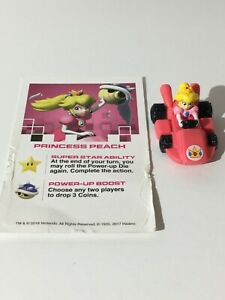 Princess Peach Replacement Monopoly Gamer Nintendo MarioKart Car Token & Card