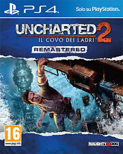 Uncharted 2 Il Covo Dei Ladri Remastered PS4 Playstation 4 IT IMPORT