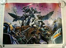Transformers Machine Wars: Termination Lithograph Print 2013 Botcon LADV04