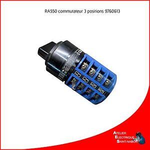 9760614 - Commutateur 3 positions pour poste Kemppi RA550