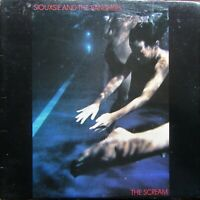 SIOUXSIE AND THE BANSHEES THE SCREAM LP Polydor POLD5009 Lyric Inner 1978