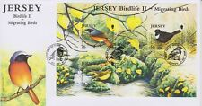 Unaddressed Jersey Cover FDC 2008 Birdlife II Migrating Birds Sheet 52p-76p