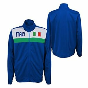 Outerstuff International Soccer Men's Italy Track Jacket