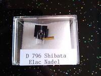 Elac Abtastnadel Shibata D 792 E, 793 E, 794 E, 795 E, 796 E  Nachbau Tonar