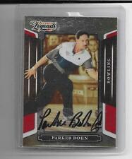 2008 Sports Legends - PARKER BOHN - Autograph - PBA BOWLING #d 506/1369