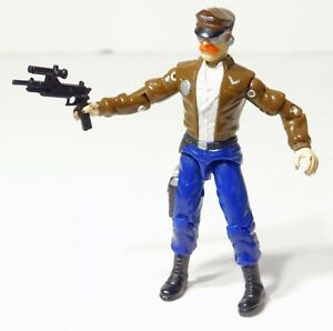 "DOGFIGHT v1 - Vintage GI Joe 3.75"" Action Figure + Gun - Hasbro 1989"