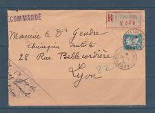 frb/ timbre France Pasteur 1f50 seul sur lettre poste aux armées 600 Levant 1931