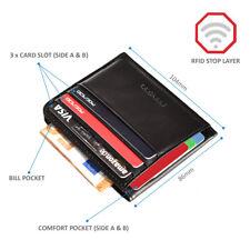 POCARDO Minimalisten Portmonne für Karten und Geldscheine - Slim Leder Wallet