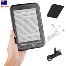 E-book Reader E-reader 6 Inch E-ink Screen MP3 Player with Turn Page Buttons New